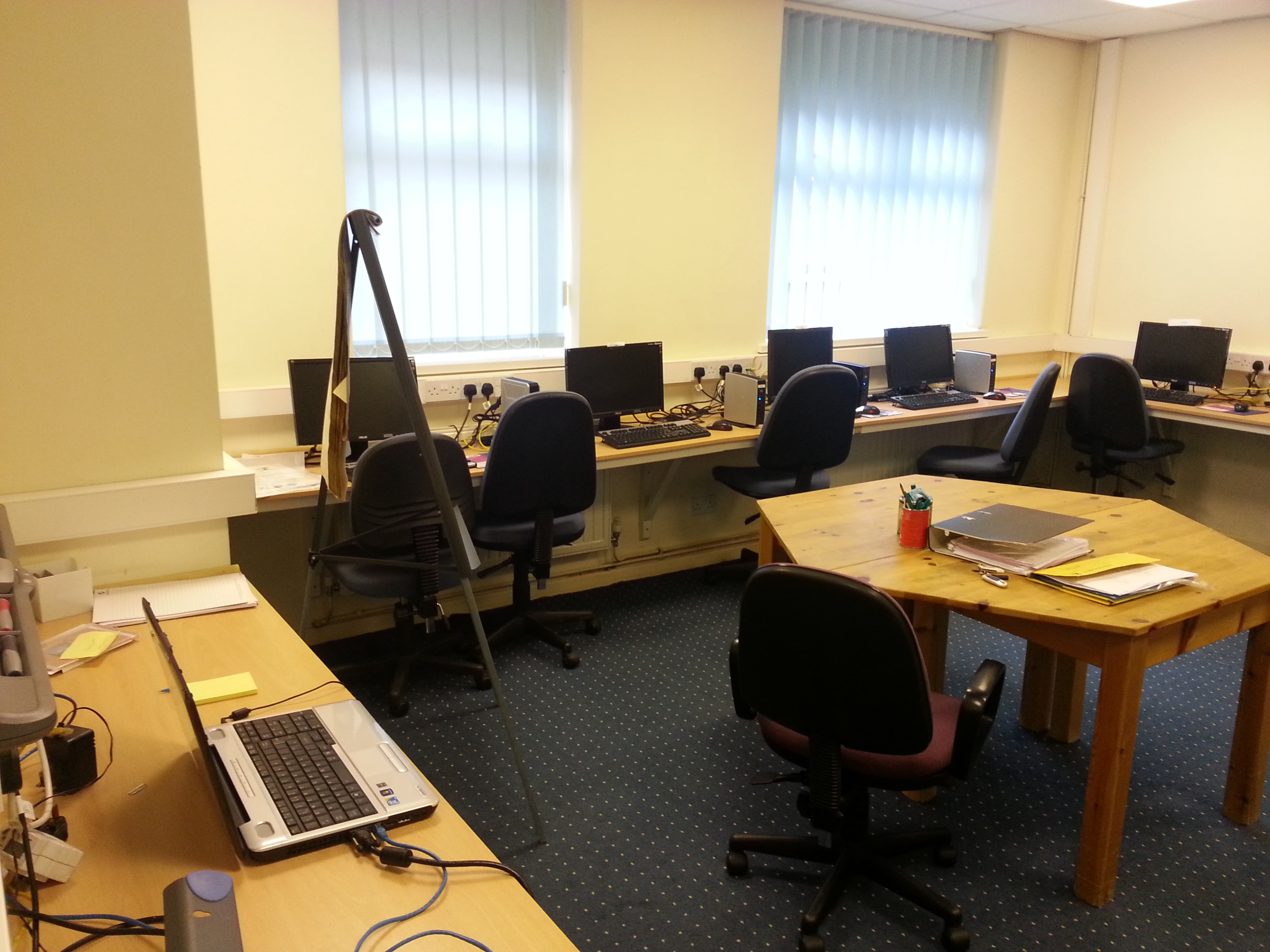 Barrowmore computer training room 2